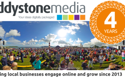 Eddystone Media celebrating 4 years