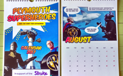 Plymouth Superheroes Calendar Raises Awareness of Strokes