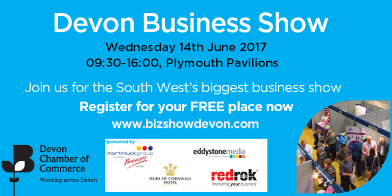 Eddystone Media at the Devon Business Show 2017